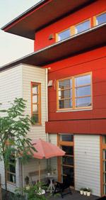 Holzfassade, Fassade aus Holz, Wärmedämmung, Holzfassaden, Mauerwerk, Holzbau, Außenwand, baulicher Holzschutz, Außenwände, Fassade, Holzbekleidung, Brettfassaden, Putzfassade, Klinkerfassade, Holzwerkstoffe, Holzbekleidungen