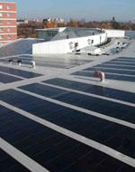Solarzellen statt Kiesschüttung