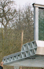 Brückenbau, Fahrbrücke, verstärkter Kunststoff, Straßenbrücke, glasfaserverstärkter Kunststoff, Brückenkonstruktion, GFK-Brücke, Betonbrücke, Stahlbrücke, ASSET-Projekt, Advanced Structural SystEms for Tomorrow's Infrastructure, Fußgängerbrücke, Holzbrücke, Instandhaltung