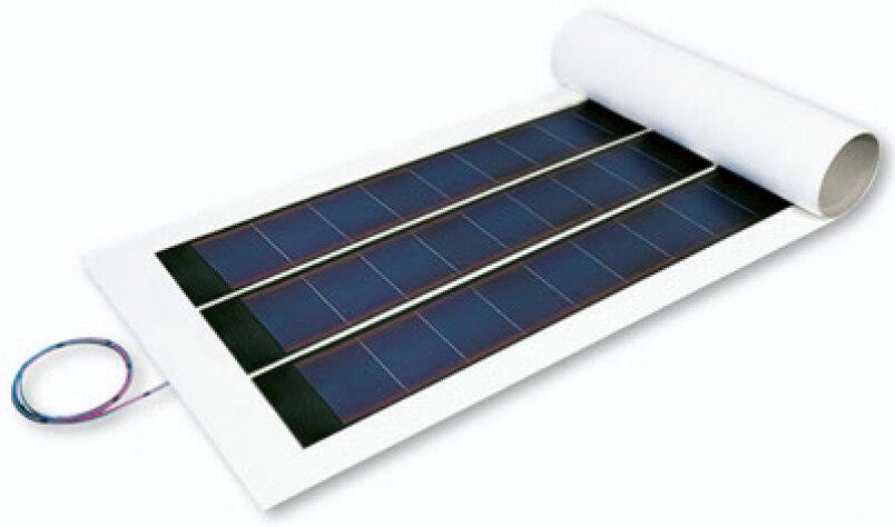 Evalon-Solar: dünnschichtige Photovoltaikdachbahn