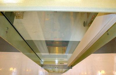 Glasfassade, Glasarchitektur, Verbundsystem, Glas, GFK, Fassaden, Verbundsystem, großflächige Verglasungen, Glasfassaden, GFK-Profile, selbsttragende Glasbauelemente, Fassadensystem, Rahmenkonstruktionen, Wärmeausdehnungskoeffizient, Glas