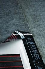 Flachdach, Brandschutzkonzept, Elastomerbitumenbahnen, Dachabdichtung, Abdichtung, Bitumenbahn, Bitumen, Brandschutz, EPS-Dämmung, Elastomerbitumenbahn