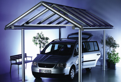 carport system mit mehrwert dank solaranlage als. Black Bedroom Furniture Sets. Home Design Ideas