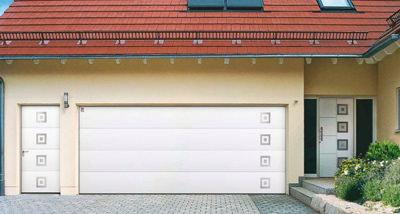 Garagentor design  Tür und Tor im Zwillings-Design