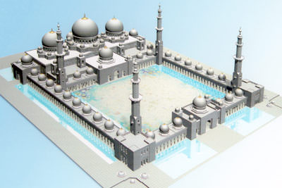 Beschichtungen, Korrosionsschutz, Scheich Zayed Moschee, Abu Dhabi, Korrosionsschutz, Brandschutz, Stahlverstärkung, Stahlkorrosionsschutz, Brandschutzbeschichtung, Betonschutzfarbe