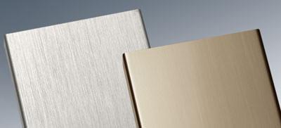 veredelungsvarianten f r aluminium und stahl von sch co. Black Bedroom Furniture Sets. Home Design Ideas