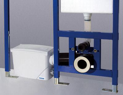 Abwassertechnik, kompakte Hebeanlage, Vorwandinstallation, Abwasserhebeanlage, Abwasserentsorgung