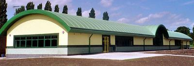 Dach, Kunststoffdach, PVC-Dach, Tonnendach, Tonnendächer