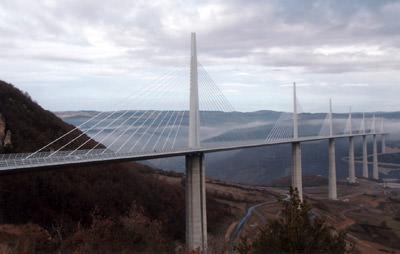 Verkehrsarchitektur, Lord Norman Foster, Autobahnbrücke Viaduc de Millau