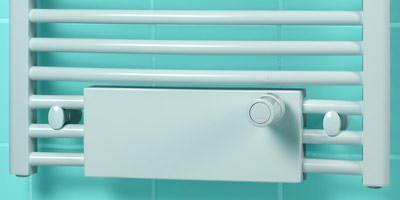 Heizkörper, Brötje Badheizkörper, Fußbodenerwärmung, Fußbodenheizung, Thermostat
