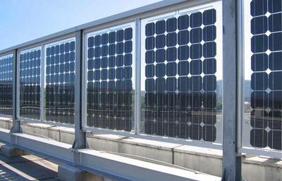 bifaciale PV-Module, Photovoltaik-Modul, Brüstung, Brüstungen, bifaciale Zelltechnologie, Gebäudehülle, Solarzellen, Solarzelle