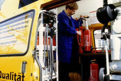 Feuerlöscher, bvbf Bundesverband Brandschutz-Fachbetriebe e.V., Löschmittel, Treibmittel, Brandschutz