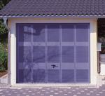 belüftete Garage, Garage mit Belüftungssystem, Garagentor, Lamellentor