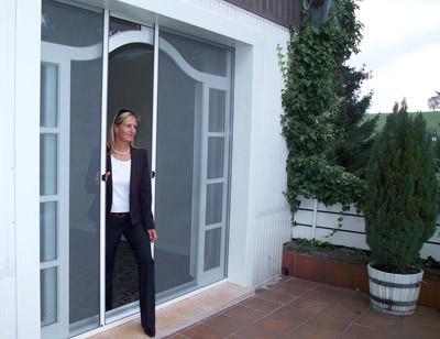 Insektenschutz, Rollo, Insektenschutz-Rollo, Fenstertür, Fenstertüren
