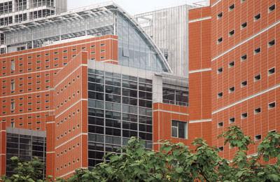 Fassadenverkleidung, Fassadenbekleidung, Keramikfassade, Fassadenkeramik