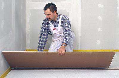 brosch re soll umgang mit fermacell trockenestrich vereinfachen. Black Bedroom Furniture Sets. Home Design Ideas