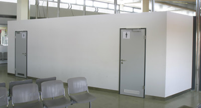 empore und fluchttunnel systemerweiterungen von knauf cubo inhaus trockenbau. Black Bedroom Furniture Sets. Home Design Ideas