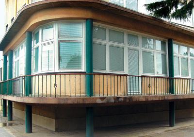 Verbundfenster, Isolierfenster, Fenster, Schallschutzfenster, Wärmeschutzfenster, Sonnenschutzfenster mit innenliegender Jalousette, Jalousie, Jalousien, Verbundfenster, vorgesetzte Scheibe, Kunststofffenster