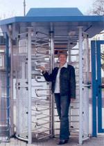 Drehkreuz, Drehsperre, Personenvereinzelung, Drehkreuze, Drehsperren, Zugangskontrollen, Zutrittskontrolle, Zutrittskontrollen, Pförtner, berührungslose Legic-Karten, Durchgangssperre