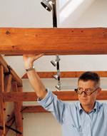 Modernisierung, Bauholz, Holz, Holzhaus, Dachausbau, Ausbau, Umbau, Trennwände, Holzkonstruktion, Holzverkleidung, Wandverkleidung, Deckenverkleidung