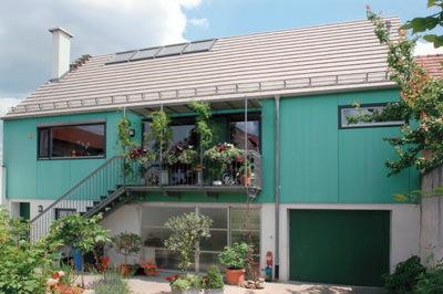 Dachfenster, Dachwohnfenster, VELUX Architekten-Wettbewerb 05, Wohndachfenster, Lichtband, Fenster, Fensterfläche