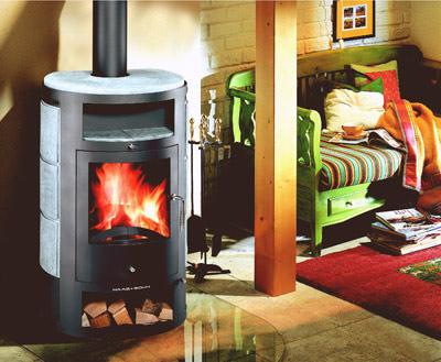 wirtschaftlich heizen kamine und fen erg nzen die zentralheizung. Black Bedroom Furniture Sets. Home Design Ideas