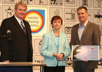 Hamburger Solarpreis 2005, Solarunternehmen, Photovoltaik, solare Wärmetechnik, Kühltechnik, Solarinitiative Nord, Innung Sanitär Heizung Klempner Hamburg