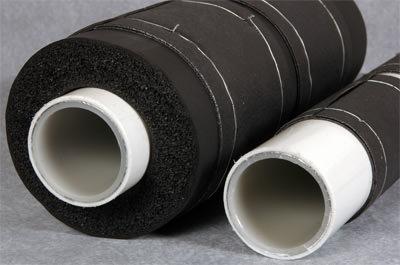 brandschutzsystem von g h isolierung jetzt auch f r brennbare rohre zugelassen. Black Bedroom Furniture Sets. Home Design Ideas