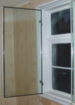 Kastenfenster, Doppelfenster, Vorsatzfenster, alte Fenster