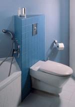 schwerlastfu f r wc und bidet im frei gestalteten bad. Black Bedroom Furniture Sets. Home Design Ideas