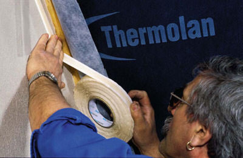 Bauwerksabdichtung, Dachisolierung, Kleberaupe, Klebetechnik, Dampfbremse