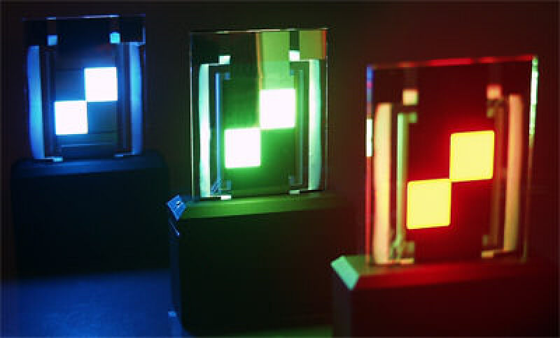OLED-Beleuchtung, organische Leuchtdiode, Leuchtdioden