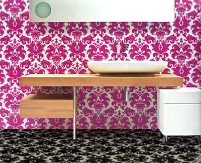 Möbel, Mailänder Möbelmesse, Ornament, florale Motive, Möbeldesign, Polstermöbel, Stühle, Stuhl, Tische, Tisch