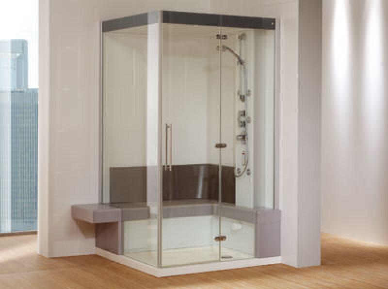 Keramik-Dampfbad, Designpreis der Bundesrepublik Deutschland 2006, Wellness, Danpfbäder, Konsumgütermesse Ambiente