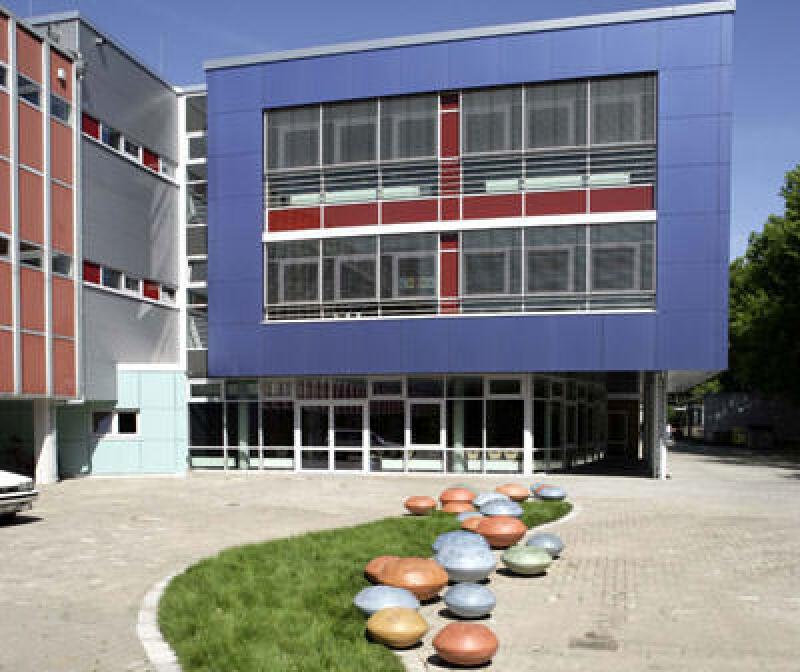 Schulhof in Ahrensburg