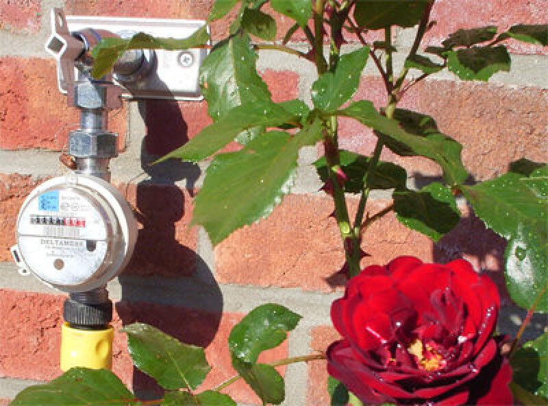 Gartenwasser, Gartenwasserzähler, Garten-Wasserzähler, Wasserzähler, Gartenwasser-Zähler, Abwassergebühren, Zapfstelle, Ventilwasserzähler, Zapfhahnwasserzähler, Zapfhahn