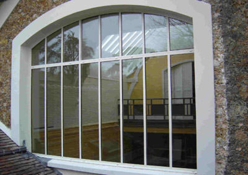 Metallfenster, Stahlfenster, Fenster aus Stahl, Fensterprofil, Stahlprofile, Aluminiumfenster, Isolierglas, suboptimalen Wärmedämmwerte, schlechter Wärmedämmwert