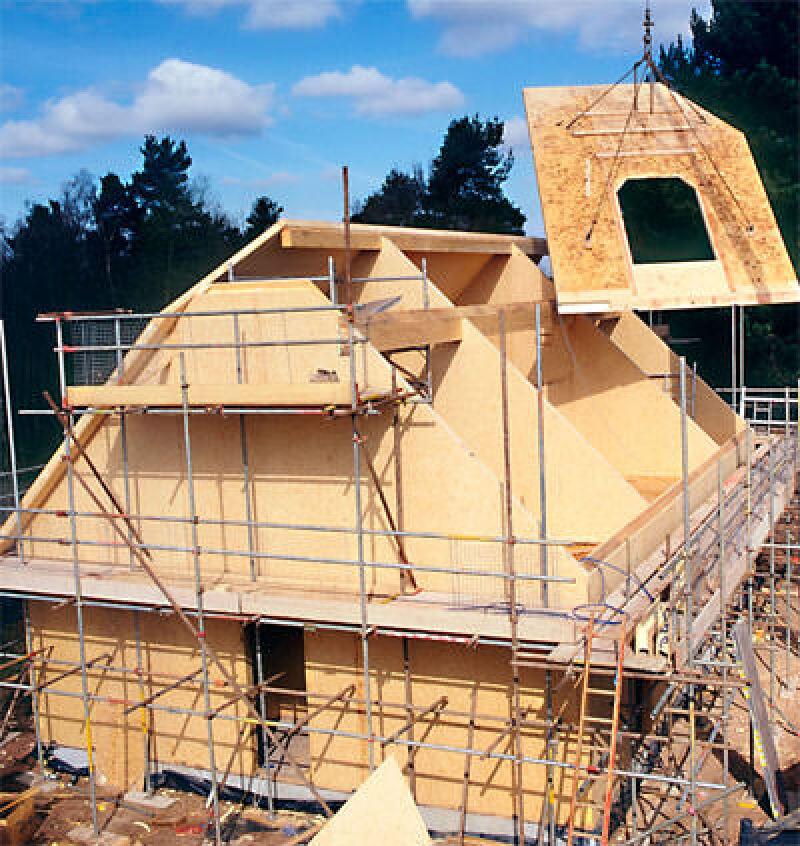 Passivhaus wandaufbau  Neuartige Element-Bauweise: schnell, schlank und passivhausgerecht ...