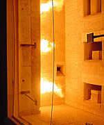 Brandschutzglas, Brandschutzverglasung, Brandabschottung, rahmenlose Glasfläche, Steindl Glas, Glasstöße, Nurglasfuge,  Metallbau, keramische Rundschnur