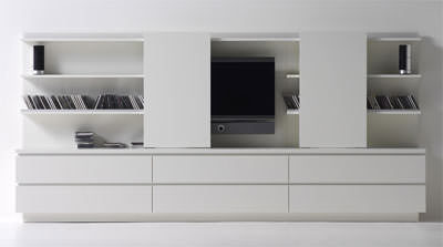 interl bke produktneuheiten 2006 auf der imm tv kommode medienm bel und kastenm bel f r. Black Bedroom Furniture Sets. Home Design Ideas
