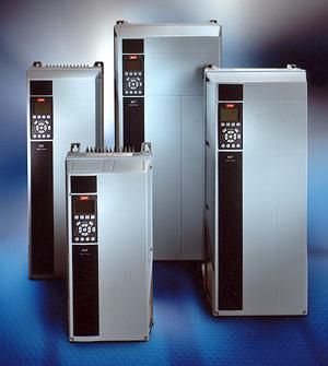 Danfoss Frequenzumrichter, VLT 6000 HVAC, VLT HVAC Drive FC 100, Umrichter, HLK, EMV-Filter, Zwischenkreisdrossel, Frequenzumrichter, Pumpen, Lüfter, Verdichter, Leistungsreduzierung, Feldbus, PROFIBUS, Modbus, Lonworks, BacNet