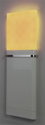 Heizkörper, Heizpaneel, Beleuchtung, Purmo DiaNorm, Leuchte, Strahlungswärme, Konvektionswärme, LED-Leuchte, Badheizkörper, Badezimmerheizkörper