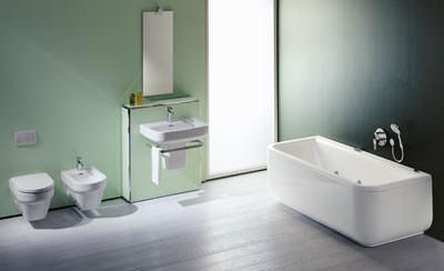 Badezimmer keramik laufen badezimmer blog for Muster badezimmer ausstellung