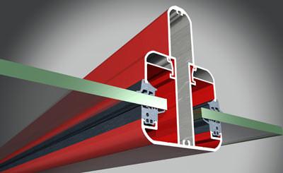 ungedämmtes Aluminiumsystem für Terrassendächer, Terrassenüberdachung, Carport, Carports, Aluminiumkonstruktion für Terrassendach, Sparren, Verglasung, Glasleisten, Baukastensystem, Sonnenschutzfachbetrieb, Metallbau, Dachkonstruktion