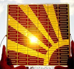 Farbstoffsolarzellen, Farbstoffsolarmodule, farbige Solarzellen style=