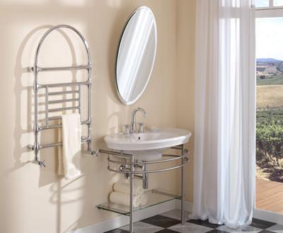 stilvolle w rme f r das klassikbad zehnder empire wembley w rmek rper als handtuchheizung. Black Bedroom Furniture Sets. Home Design Ideas