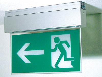 Notleuchten, Lampen, Hinweisleuchten, Notbeleuchtung, Notleuchte, Rettungszeichenleuchte, Rettungsleuchte, Dauerschaltung, Leuchtmittel, Sicherheitsbeleuchtung, T16-Lp, LED, CCFL, Rettungszeichen