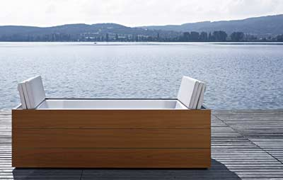 sundeck von eoos und duravit. Black Bedroom Furniture Sets. Home Design Ideas