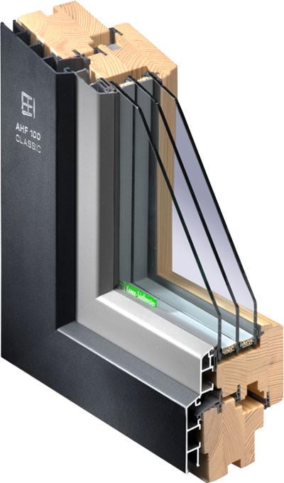 Kneer Süd Fenster weiterentwicklung des aluminium-holzfenster-sortiments bei kneer