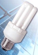 Energiesparlampe, Lampen für Photovoltaik-Anlagen, Licht, Solarstrom-Lampen, Solarstrom-Lampe, Stromnetz, Gleichstrom-Solarenergie, OSRAM die Dulux EL 12 V DC Solar, Solaranlagen, Batterien, Generatoren, Energiesparlampen, 12 V Gleichstrom-Spannung, Dimmen ohne Dimmer, Energieffizienz